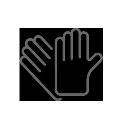 手袋の着用