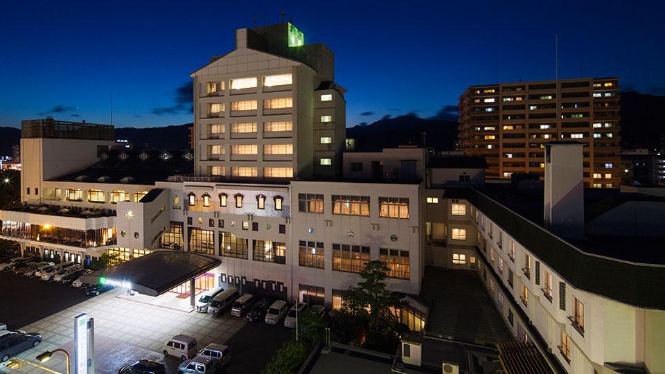 遠方のお客様にも旅館でくつろいで頂ける